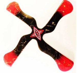 x-fly de boomerangfan quadripale