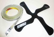 Vous pouvez facilement augmenter la portée de vos boomerangs en lestant chacunes des pales.